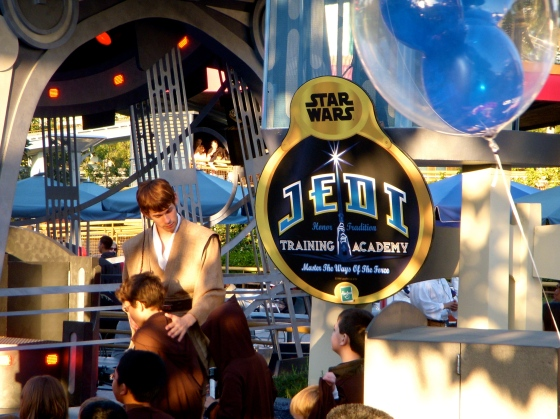 The Jedi Training Academy of Tomorrowland
